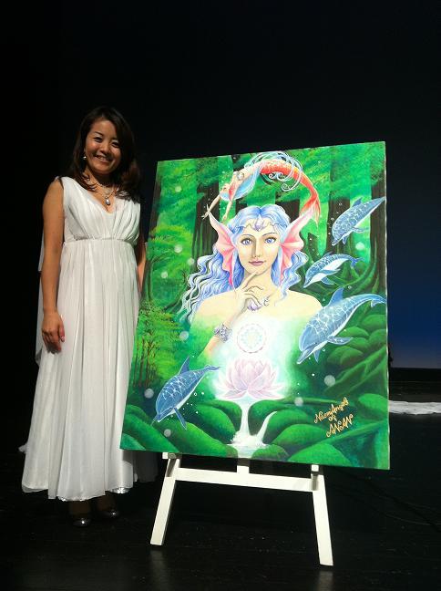 Naomi Angel イベント:AZAMIさんチャリティコンサートにご来場いただきありがとうございました!_f0186787_00352.jpg