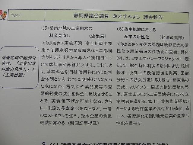 鈴木すみよし県議会議員の今泉地区県政報告会_f0141310_7345437.jpg