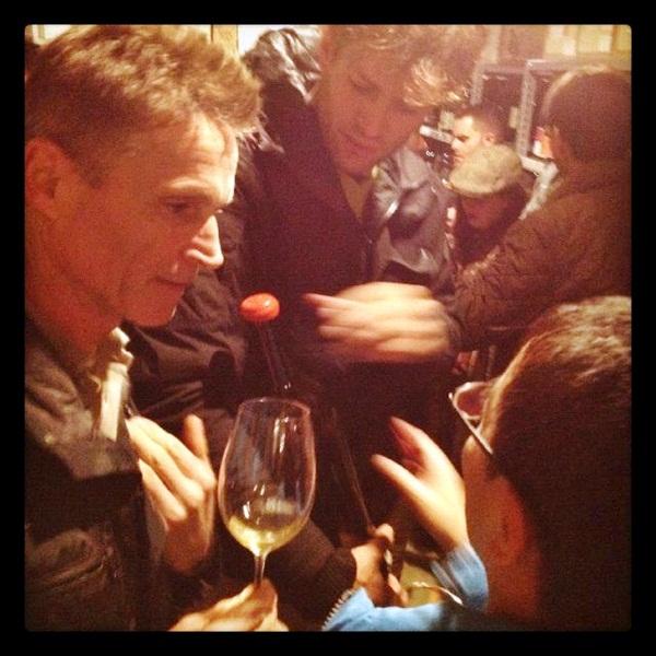イタリアからワインの造り手が来日!_b0206537_1625269.jpg