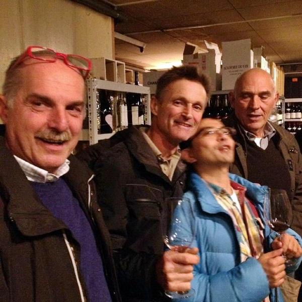 イタリアからワインの造り手が来日!_b0206537_1625781.jpg