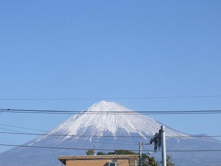 雨の次の日の富士山_b0089338_0331985.jpg