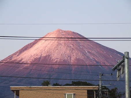 雨の次の日の富士山_b0089338_0334525.jpg