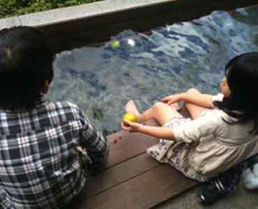 箱根一泊子連れ旅行2日目 彫刻の森&箱根湯本_e0253101_234407.jpg