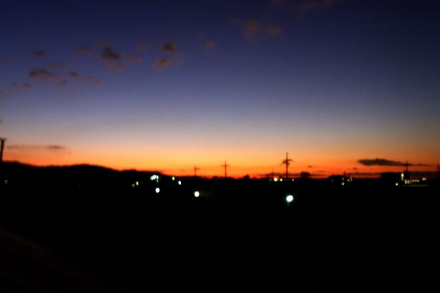 冬の朝焼け。_c0067646_19322179.jpg
