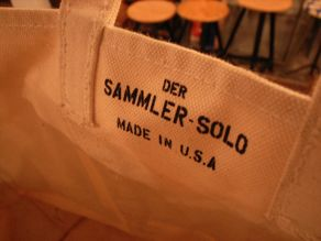 """Der SAMMLER solo × TheThreeRobbers COAL BAG L MAGIC POCKET\""ってこんなこと。_c0140560_1248834.jpg"
