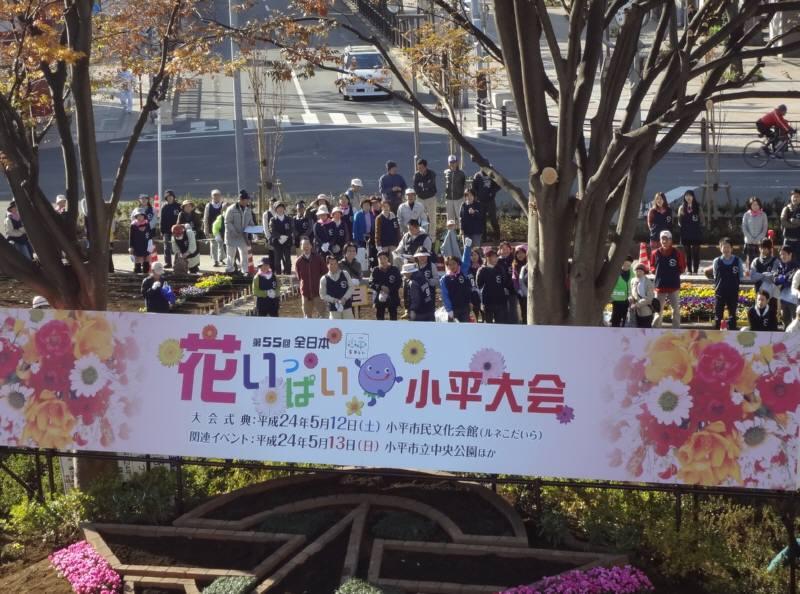 全日本花いっぱい小平大会準備_f0059673_2049812.jpg