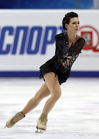 浅田真央選手が優勝、レオノワ選手とともにグランプリファイナル出場を決める -2011年ロシア杯_b0038294_23435562.jpg