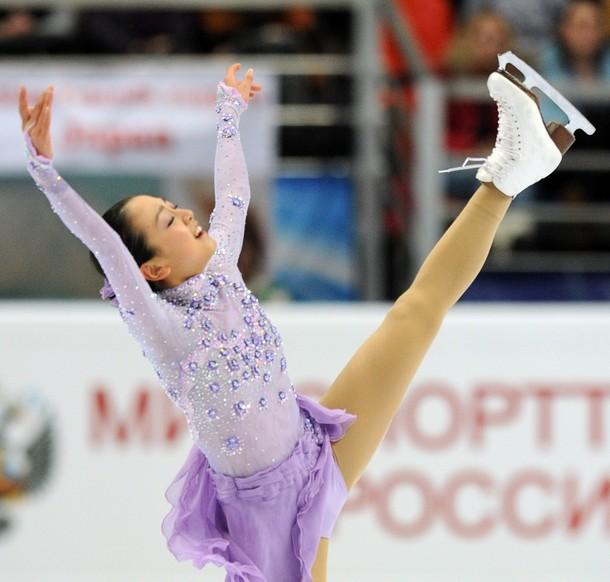 浅田真央選手が優勝、レオノワ選手とともにグランプリファイナル出場を決める -2011年ロシア杯_b0038294_2344920.jpg