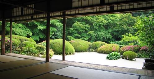 詩仙堂、サツキの庭_b0067283_9415730.jpg