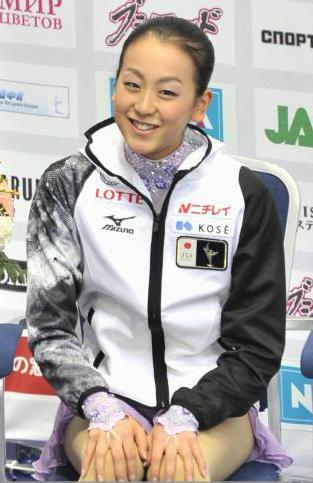 浅田真央選手が優勝、レオノワ選手とともにグランプリファイナル出場を決める -2011年ロシア杯_b0038294_9201692.jpg