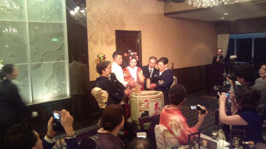 銀杏と結婚式_c0092197_22331638.jpg