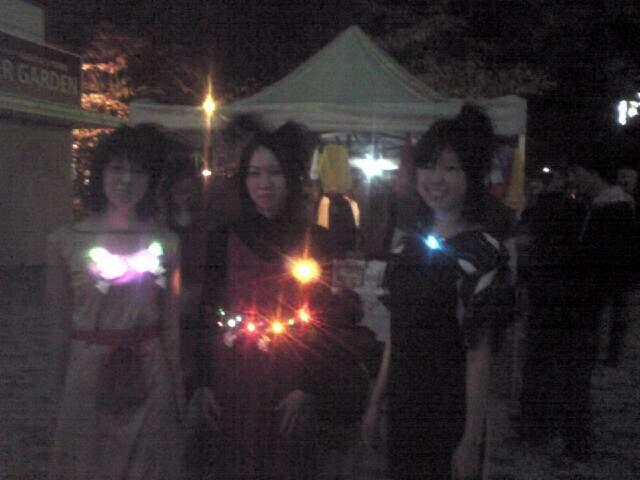 NAGOYA アカリナイト 〜LEDライトを使ったジュエリー〜_e0095418_119964.jpg