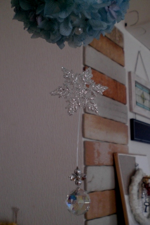 クリスマスフラワーボール_c0207719_19283481.jpg
