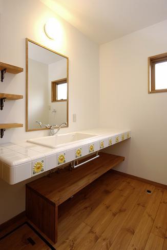 設計事務所の家づくり 『実験用流しを洗面に』_b0146238_14152279.jpg