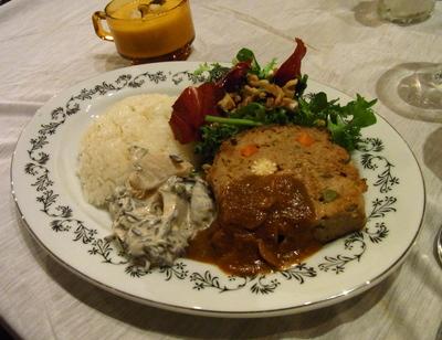 「のひのひ&道」コラボお料理 in  camiyamaemi オープニング_c0217045_10285215.jpg