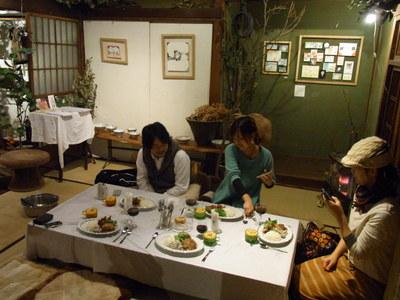 「のひのひ&道」コラボお料理 in  camiyamaemi オープニング_c0217045_10293350.jpg