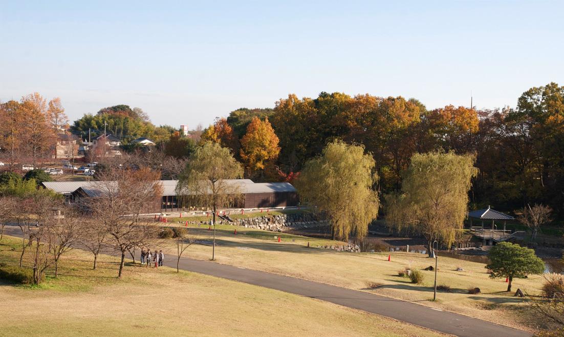 古河総合公園1 管理棟 内藤廣_e0127948_19325155.jpg