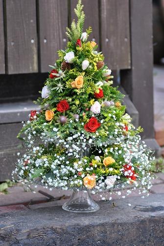 *クリスマスツリーアレンジ*_e0159050_054749.jpg