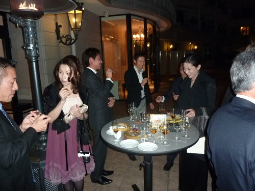 ラスイート神戸でワイン(田崎真也)と美食、高級時計の饗宴_f0039351_235489.jpg