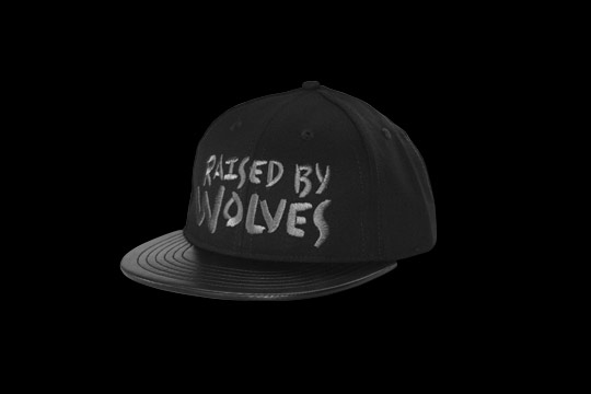 Raised by Wolves 'Blackout' Snapback Cap_a0118453_19523546.jpg