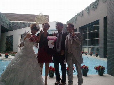 村田君 結婚式。  素晴らしい時間を過ごさせてもらいました。_a0084859_1459380.jpg