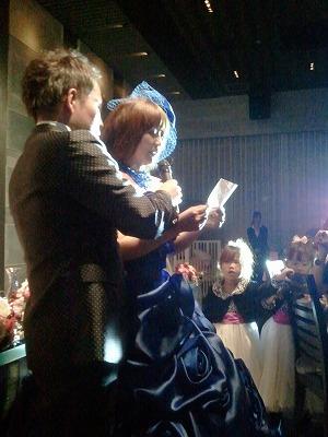 村田君 結婚式。  素晴らしい時間を過ごさせてもらいました。_a0084859_15212358.jpg