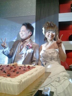 村田君 結婚式。  素晴らしい時間を過ごさせてもらいました。_a0084859_1533746.jpg