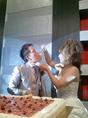 村田君 結婚式。  素晴らしい時間を過ごさせてもらいました。_a0084859_1543045.jpg