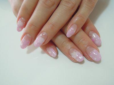 Pink Snow Nail_a0239065_1159357.jpg