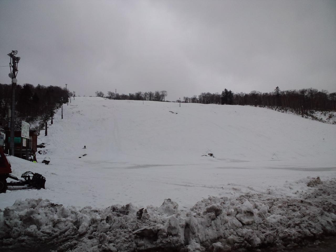 初滑り! 北海道中山峠スキー場_c0151965_15102773.jpg