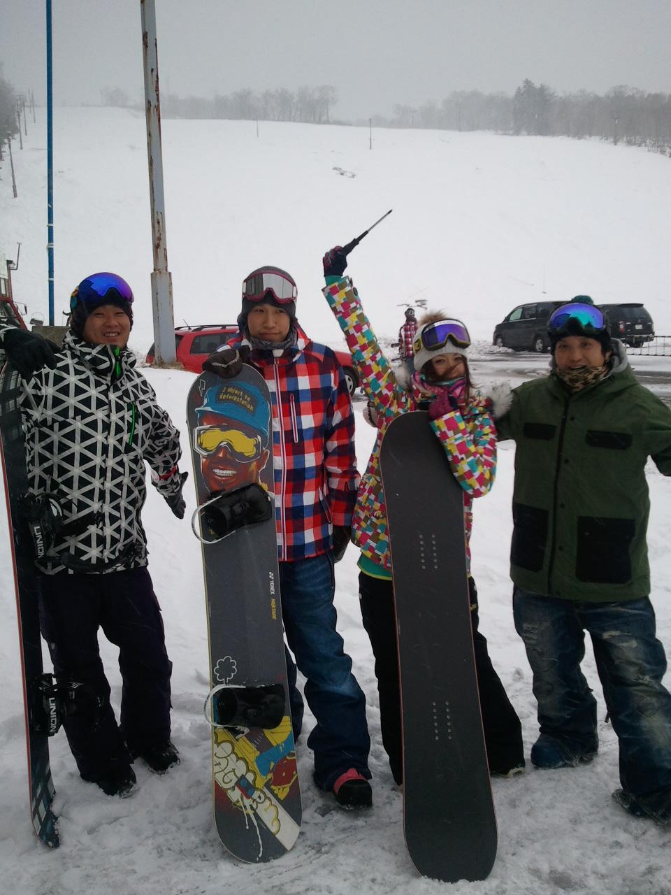 初滑り! 北海道中山峠スキー場_c0151965_15294144.jpg