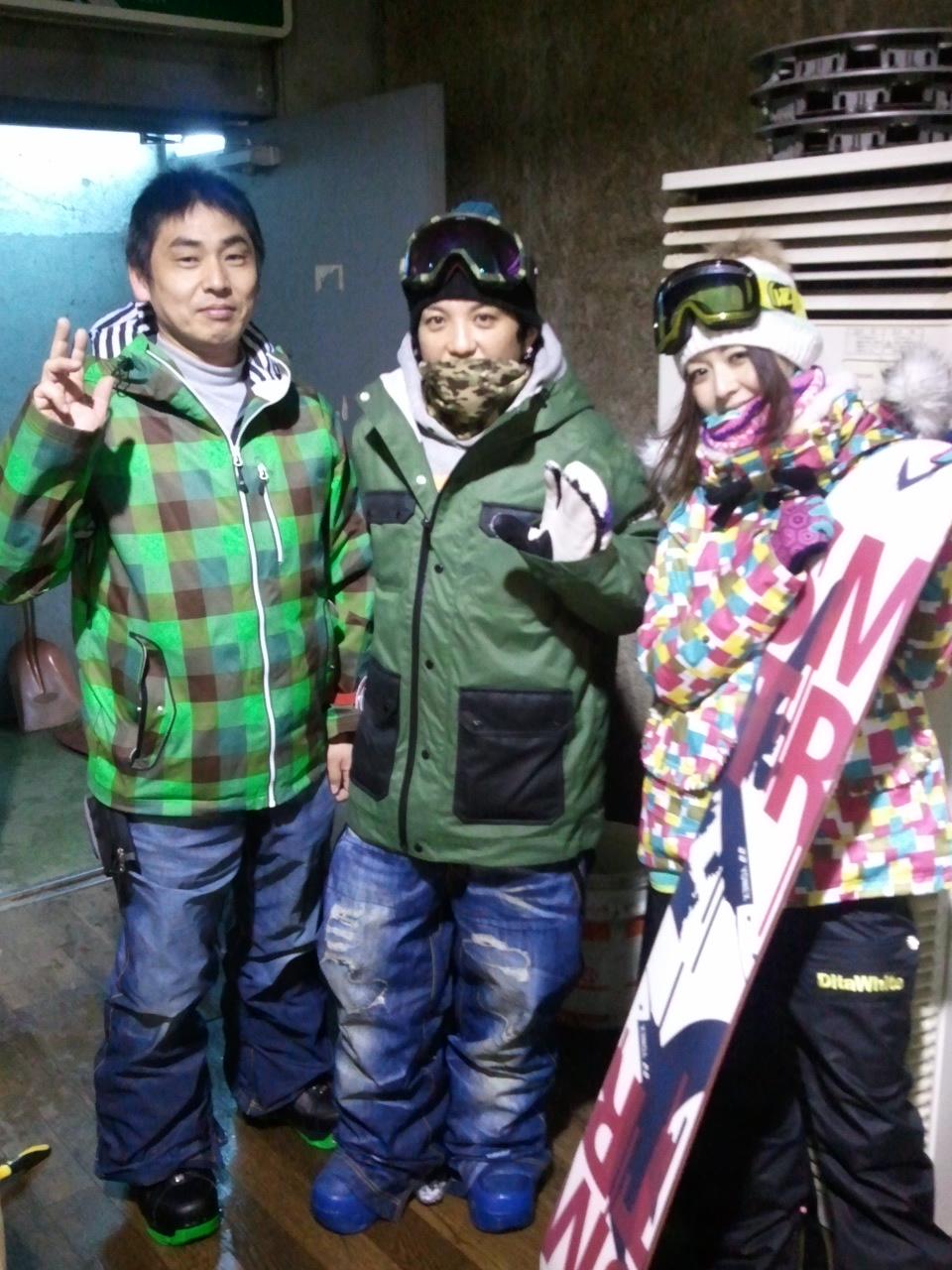 初滑り! 北海道中山峠スキー場_c0151965_159406.jpg