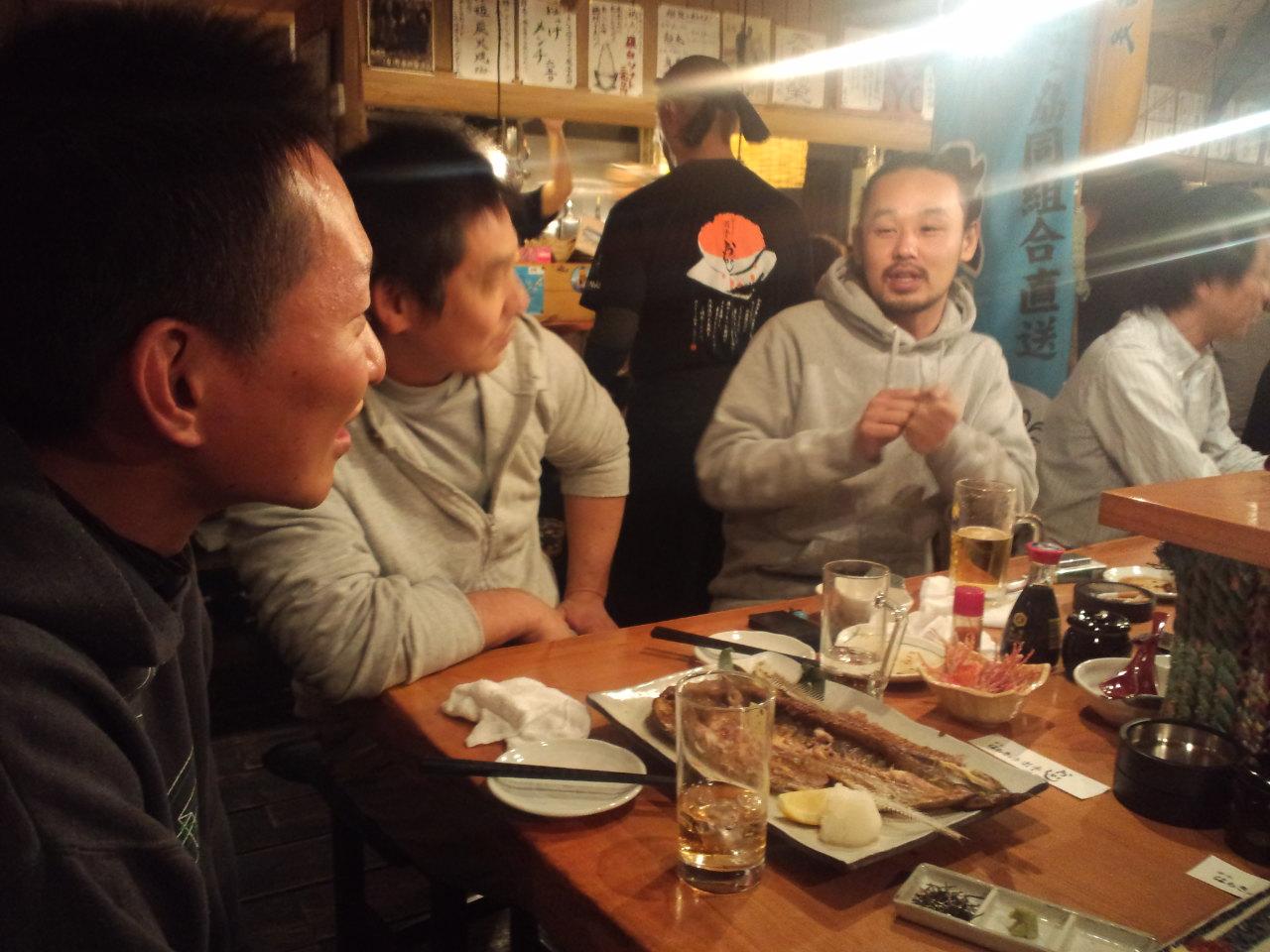 札幌2日目の夜 ☆ はちきょう_c0151965_21552861.jpg