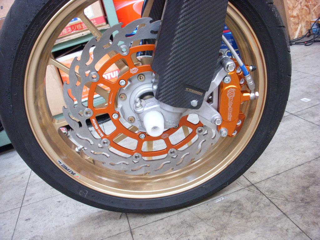 DR-Z400SM ブレーキ強化_a0172768_1838301.jpg
