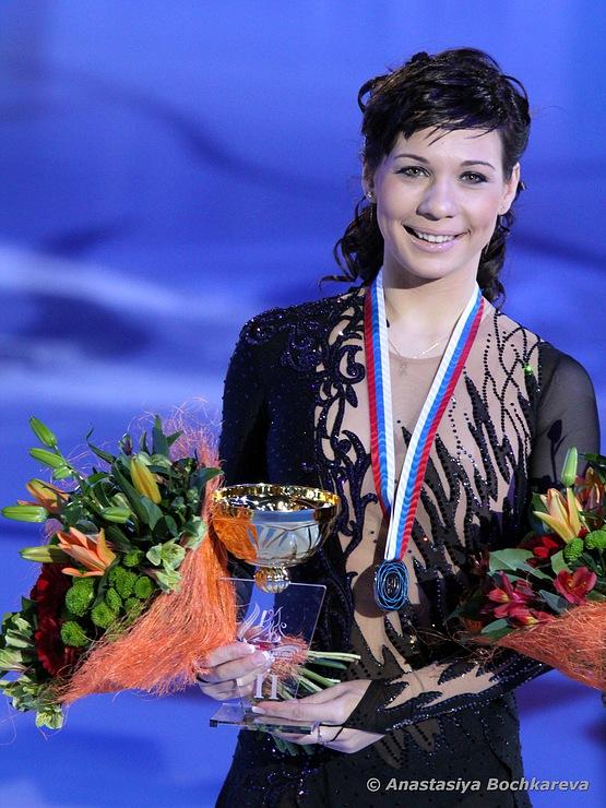 浅田真央選手が優勝、レオノワ選手とともにグランプリファイナル出場を決める -2011年ロシア杯_b0038294_1513850.jpg