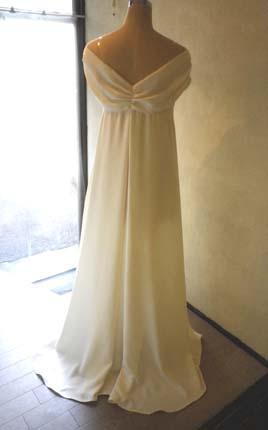 胸元ドレープリボンのドレス (フルオーダー)_b0199696_1421145.jpg