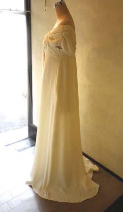 胸元ドレープリボンのドレス (フルオーダー)_b0199696_14213424.jpg