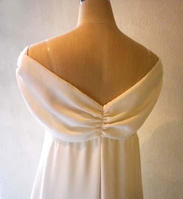 胸元ドレープリボンのドレス (フルオーダー)_b0199696_14245099.jpg
