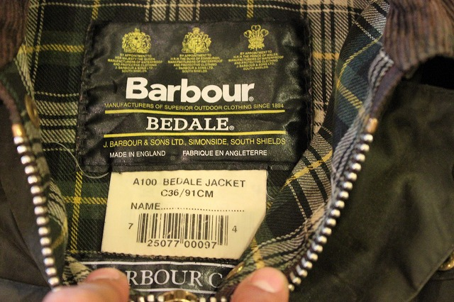Barbour  BEDALE_d0121303_15241619.jpg