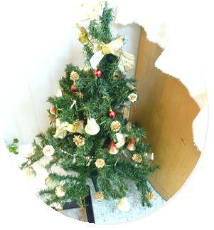 クリスマスの飾り付けをしました!! by 甲府店・塩山店_f0076925_1622043.jpg