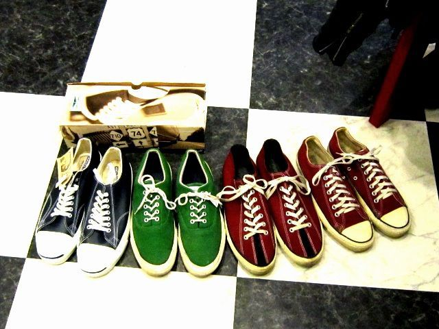 US CONVERSE vs UK RIDERS。_c0078333_20475499.jpg