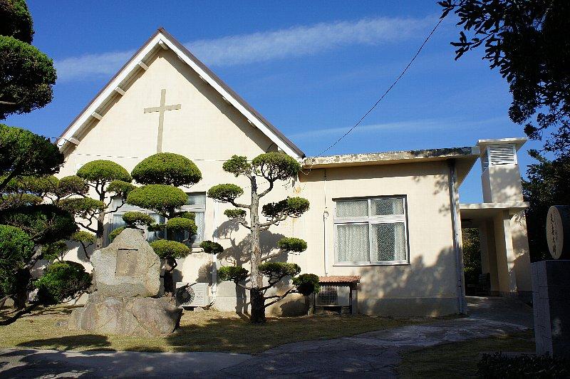 大島青松園礼拝堂_c0094541_13555573.jpg