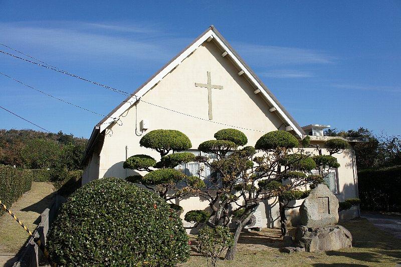大島青松園礼拝堂_c0094541_13582229.jpg