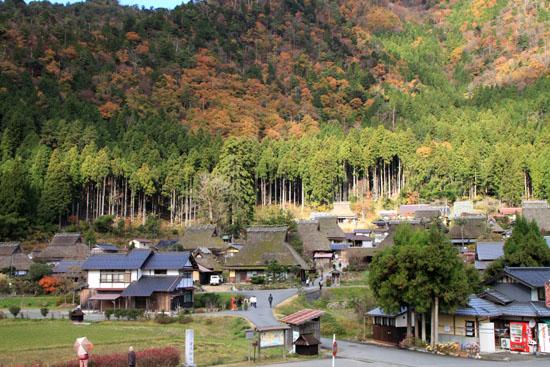 美山町 かやぶきの里 秋色_e0048413_18474763.jpg