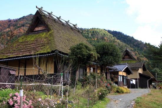美山町 かやぶきの里 秋色_e0048413_1849824.jpg
