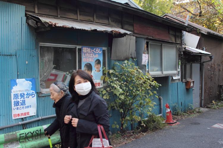 阿佐ヶ谷  共産党の似合う壁_b0061717_014037.jpg