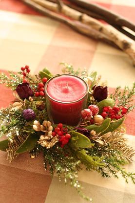 クリスマスリース教室_c0146921_15551421.jpg