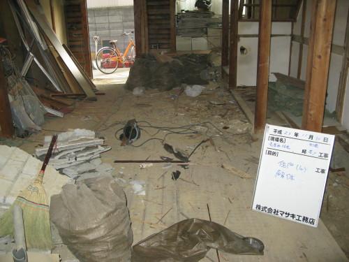 大阪市耐震改修補助事業 長居の長屋_c0229455_1315107.jpg