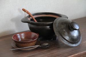 八木橋昇 土鍋 「ぬくもりの器展」_e0205196_1834698.jpg