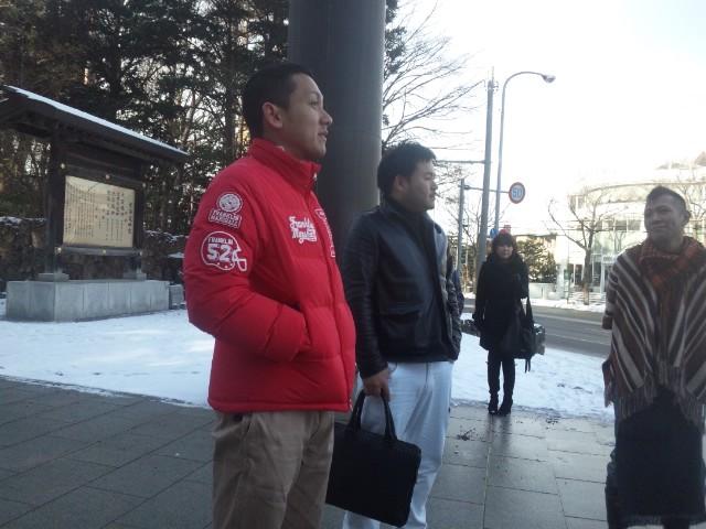 ランクル TOMMY札幌店 12月1日 月初、神宮参拝!_b0127002_21381854.jpg